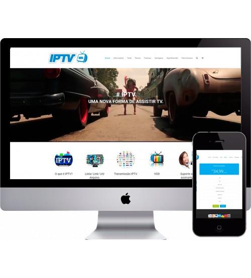 Criação de Site IPTV