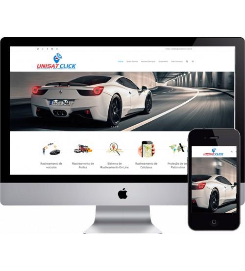 Criação de Site Rastreamento de Veículos