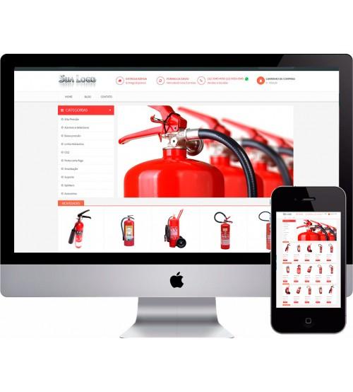 Loja Virtual Extintores