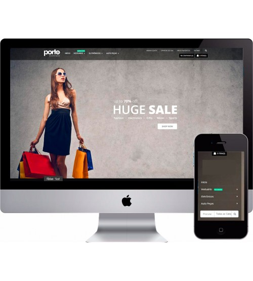 Loja Virtual Fashion Magento