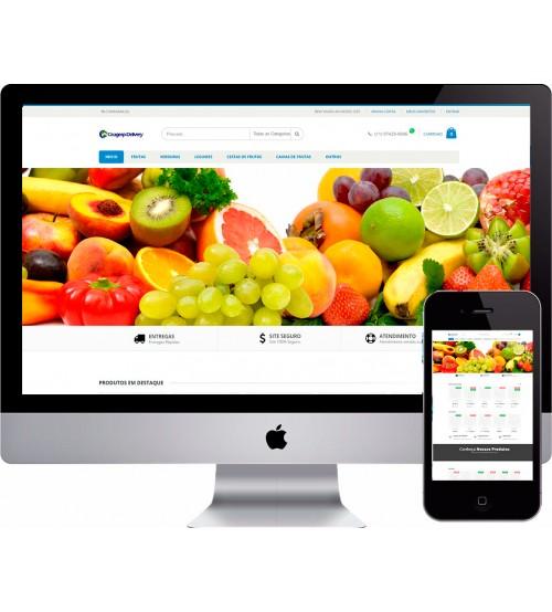 Criação de Loja Virtual Supermercado OPenCart