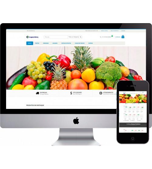Criação de Loja Virtual Supermercado Magento