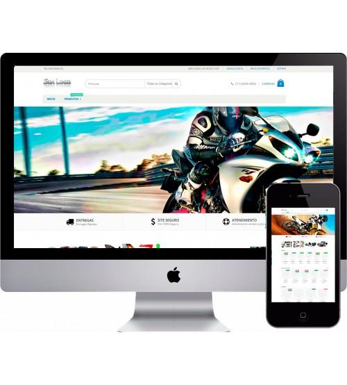 Loja Virtual Moto Peças OPenCart